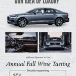 Volvo Wine Sponsor Print Ad