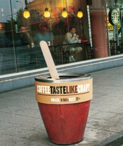 Crap Coffee Marketing Ploy