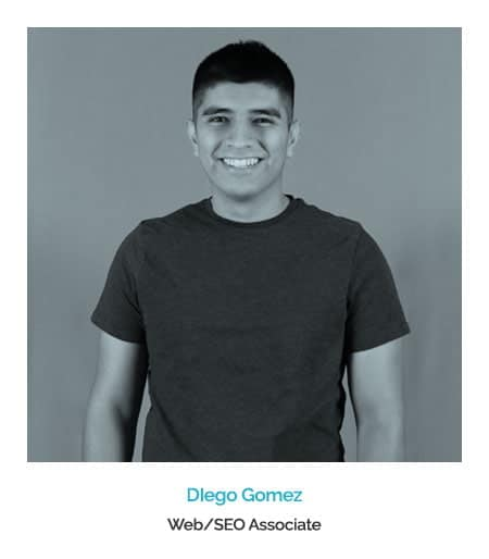 Diego Gomez - Tucson Advertising Agency Tucci Creative Web Developer