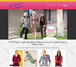 La Contessa Responsive Website Design