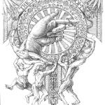 The Way to Wisdom - Mark Tucci Original Pen & Ink Sketch